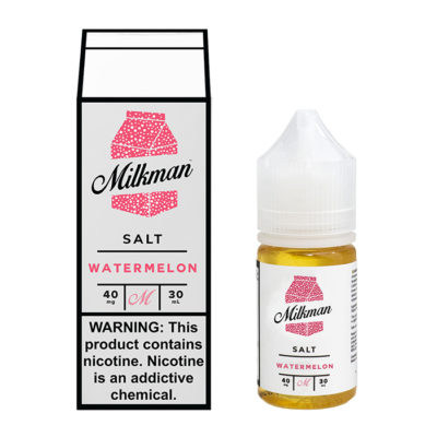 Milkman Nicotine Salt E-Juice - 30ml - Watermelon