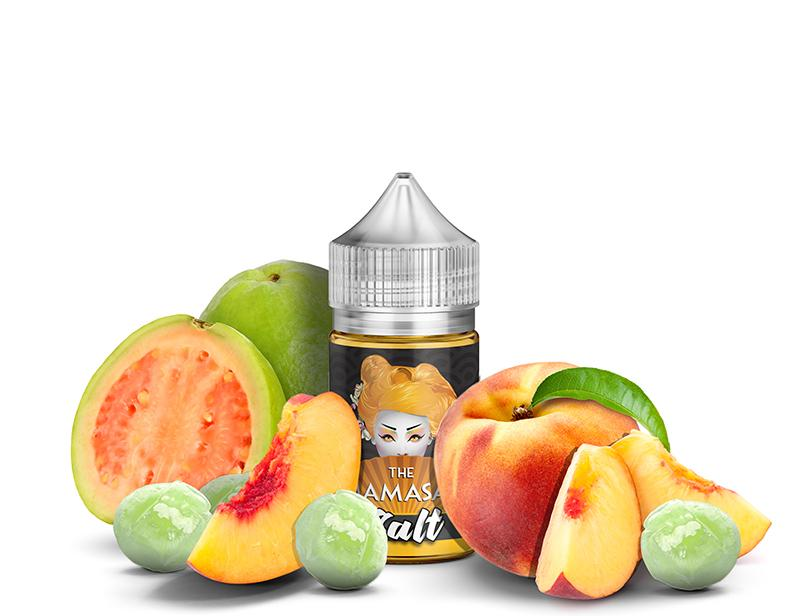 The Mamasan Nicotine Salt E-Juice - 30ml - Guava Pop