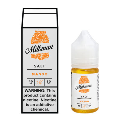 Milkman Nicotine Salt E-Juice - 30ml - Mango Ice
