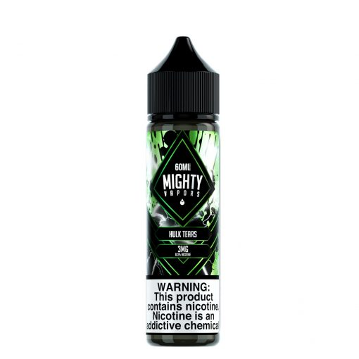 Hulk Tears by Mighty Vapors Nicotine E-Juice