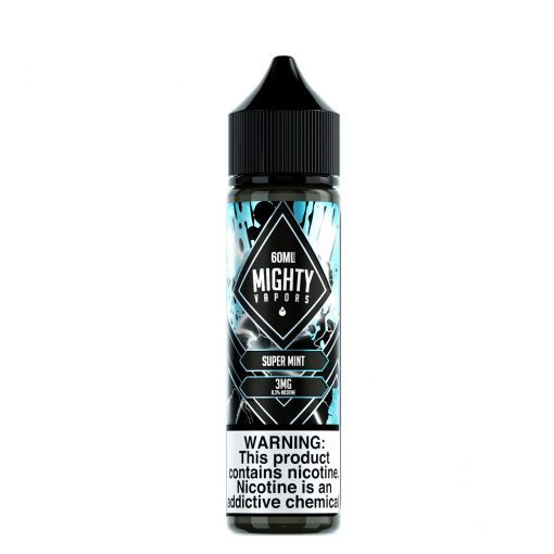 Super Mint by Mighty Vapors Nicotine E-Juice