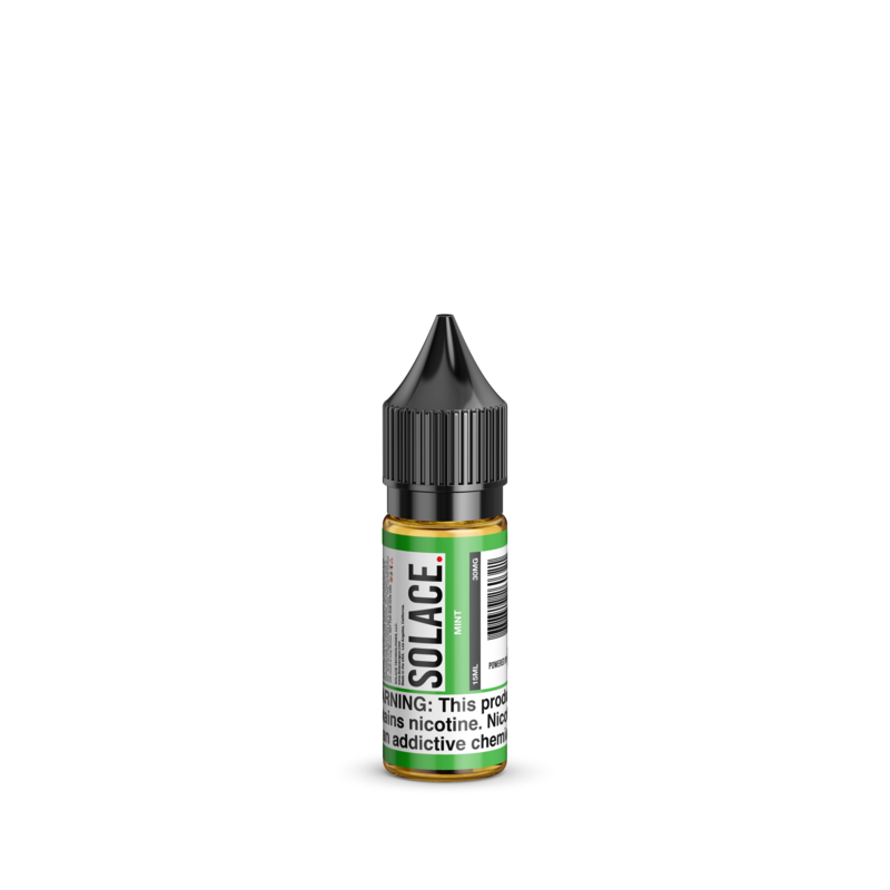 Solace Vapor Nicotine Salt E-Juice - Mint