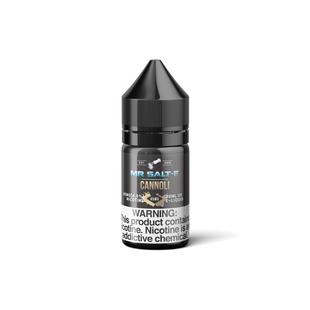 Mr Salt-E Nicotine Salt E-Juice - 30ml - Cannoli