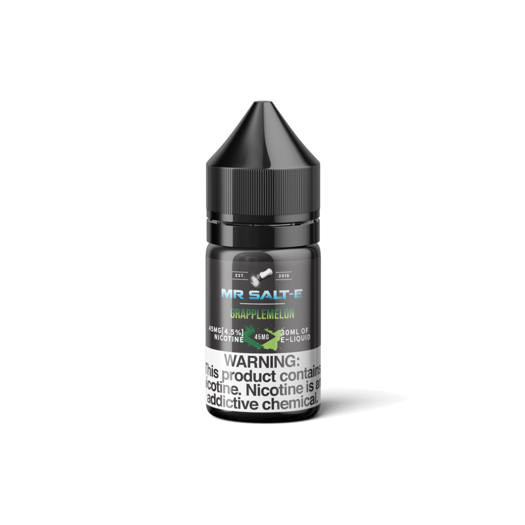 Mr Salt-E Nicotine Salt E-Juice - 30ml - Grapplemelon