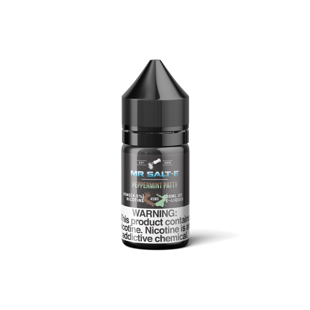 Mr Salt-E Nicotine Salt E-Juice - 30ml - Peppermint Patty