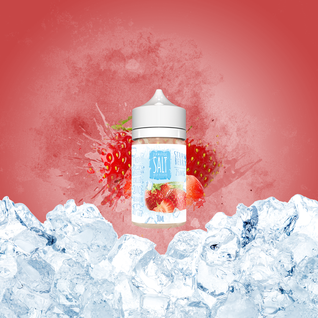 Skwezed Nicotine Salt E-Juice - 30ml - Strawberry Ice