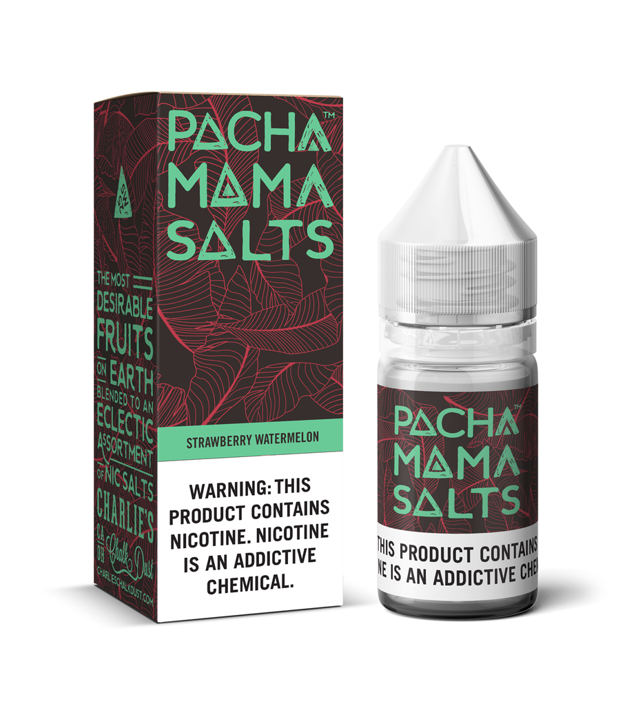 Pachamama Salts Nicotine Salt E-Juice - 30ml - Strawberry Watermelon