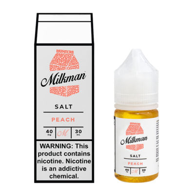 Milkman Nicotine Salt E-Juice - 30ml - Peach