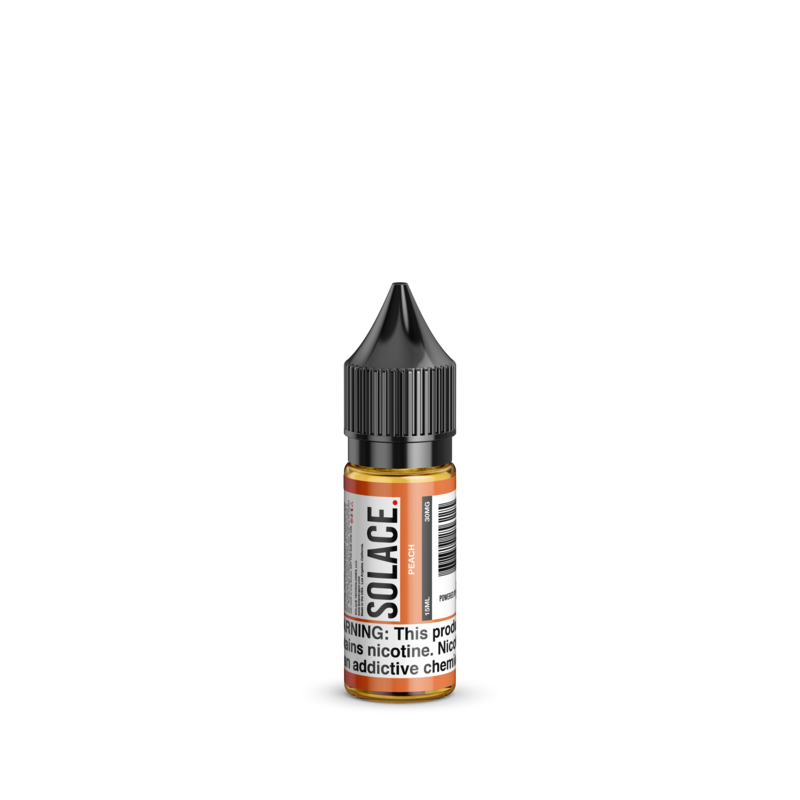 Solace Vapor Nicotine Salt E-Juice - 15ml - Neked Peach Rings