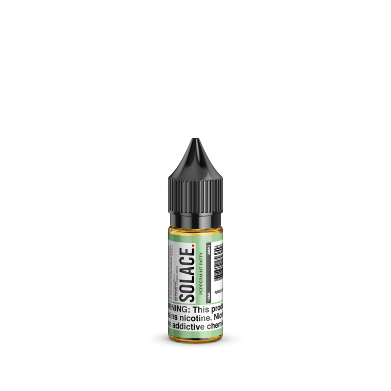 Solace Vapor Nicotine Salt E-Juice - 15ml - Peppermint Patty