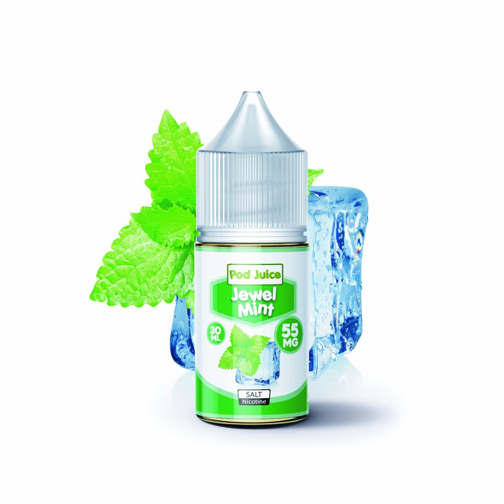 Pod Juice Nicotine Salt E-Juice - 30ml - Jewel Mint