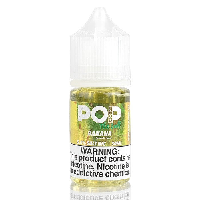 Pop Clouds the Salt Nicotine Salt E-Juice - 30ml - Banana