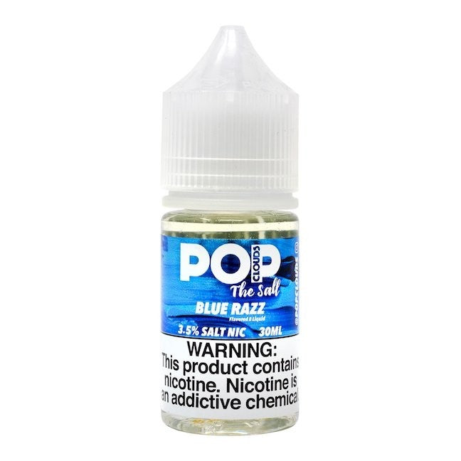 Pop Clouds the Salt Nicotine Salt E-Juice - 30ml - Blue Razz