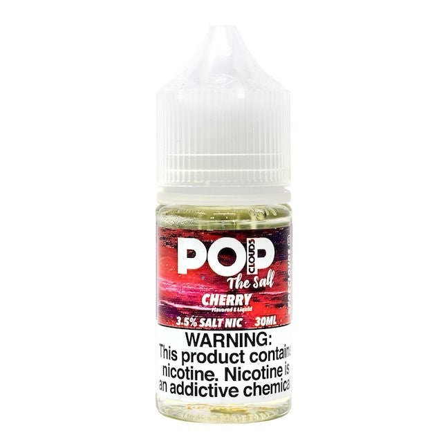 Pop Clouds the Salt Nicotine Salt E-Juice - 30ml - Cherry