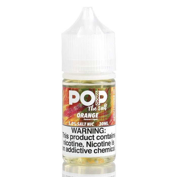 Pop Clouds the Salt Nicotine Salt E-Juice - 30ml - Orange
