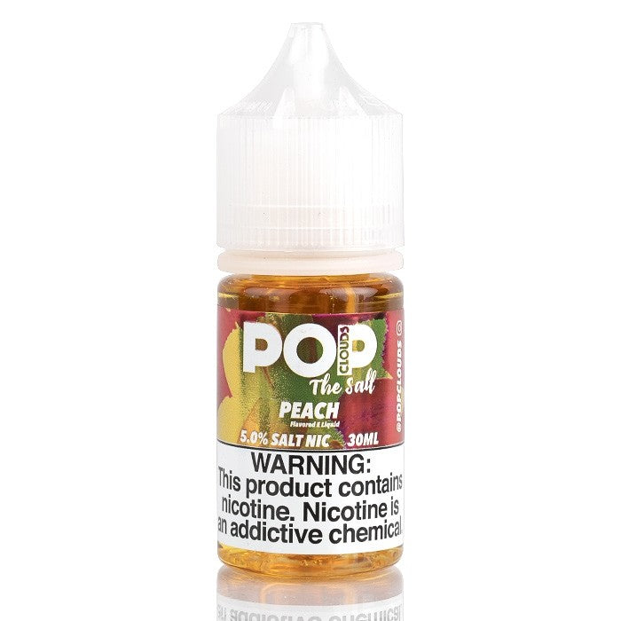 Pop Clouds the Salt Nicotine Salt E-Juice - 30ml - Peach