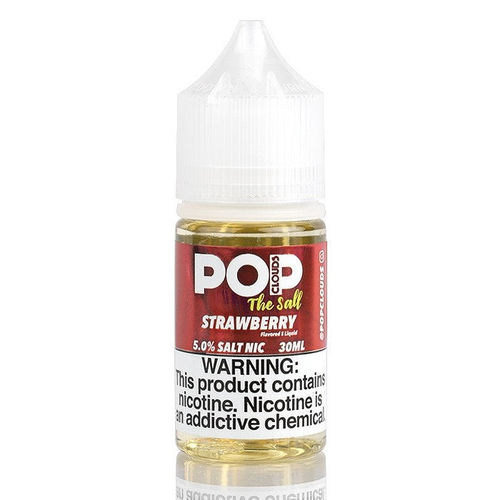 Pop Clouds the Salt Nicotine Salt E-Juice - 30ml - Strawberry