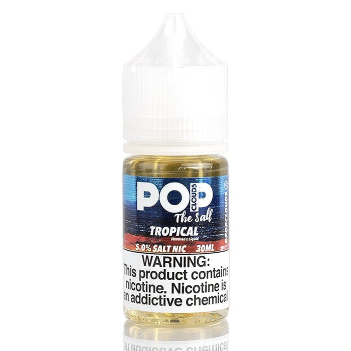 Pop Clouds the Salt Nicotine Salt E-Juice - 30ml - Tropical