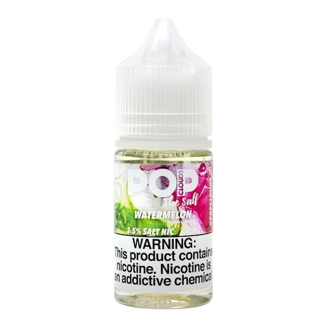 Pop Clouds the Salt Nicotine Salt E-Juice - 30ml - Watermelon