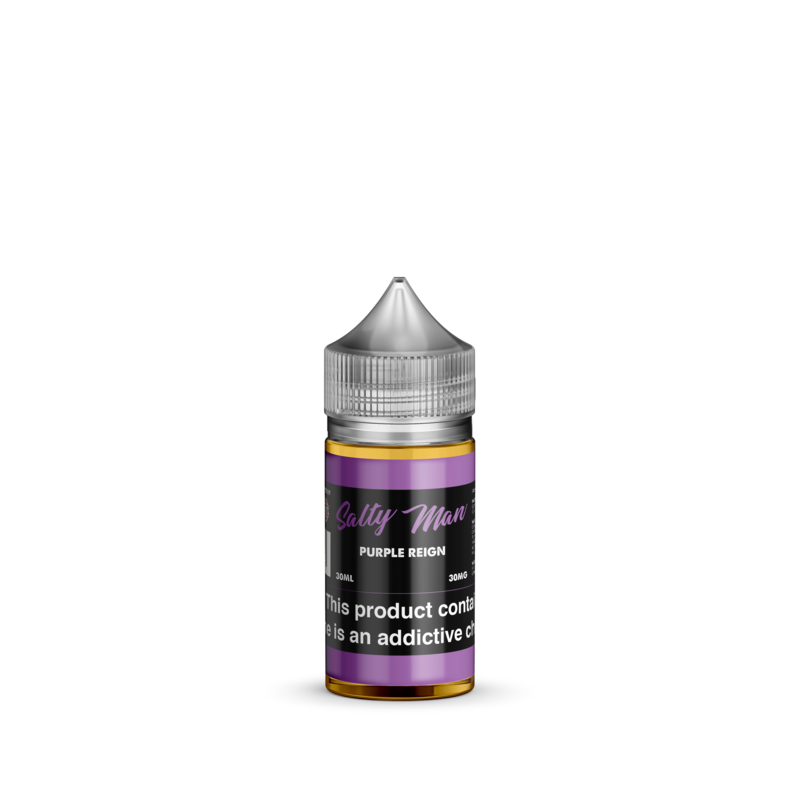Salty Man Nicotine Salt E-Liquid Line - Purple Reign