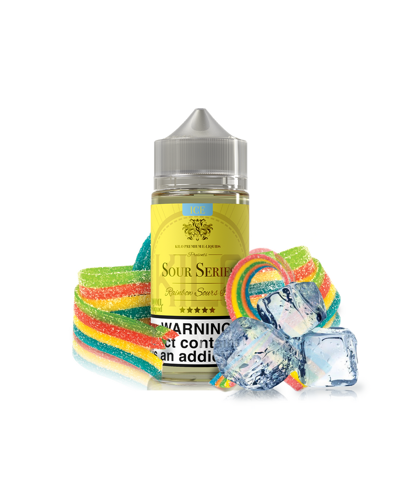 Kilo Sour Series Nicotine 100ml Rainbow Sours Ice