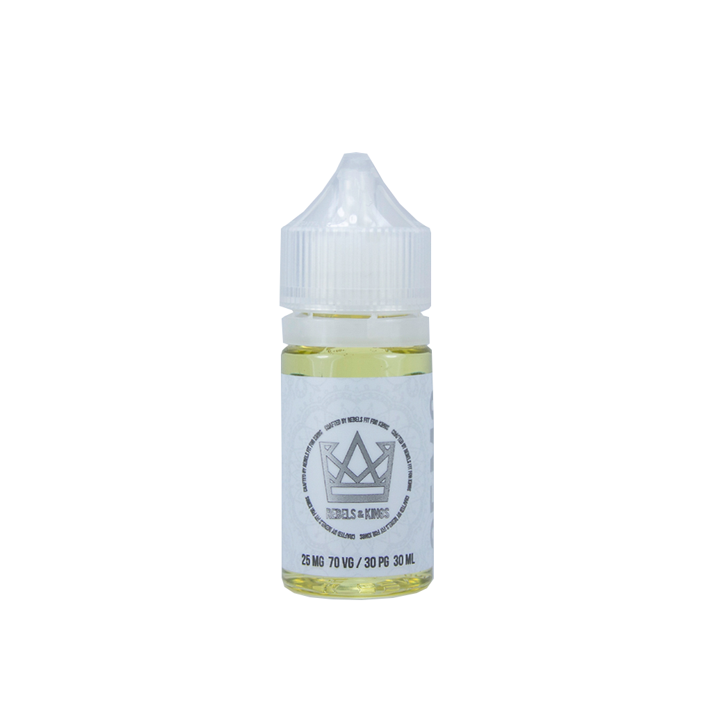 Rebels & Kings (R&K) Nicotine Salt E-Liquid - 30ml - Royal Leaf