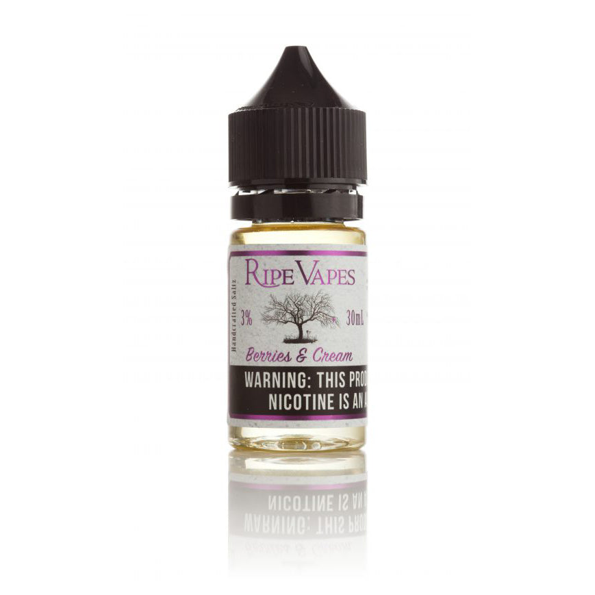 Ripe Vapes Nicotine Salt E-Juice - 30ml - Berries and Cream
