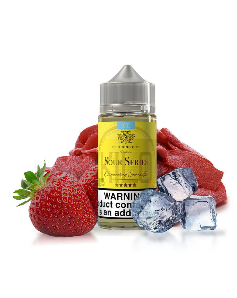 Kilo Sour Series Nicotine - 100ml - Strawberry Sours Ice