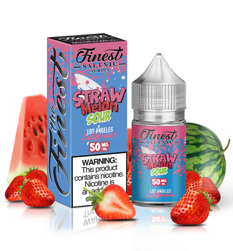 The Finest E-Liquid Nicotine Salt - 30ml - Strawmelon Sour