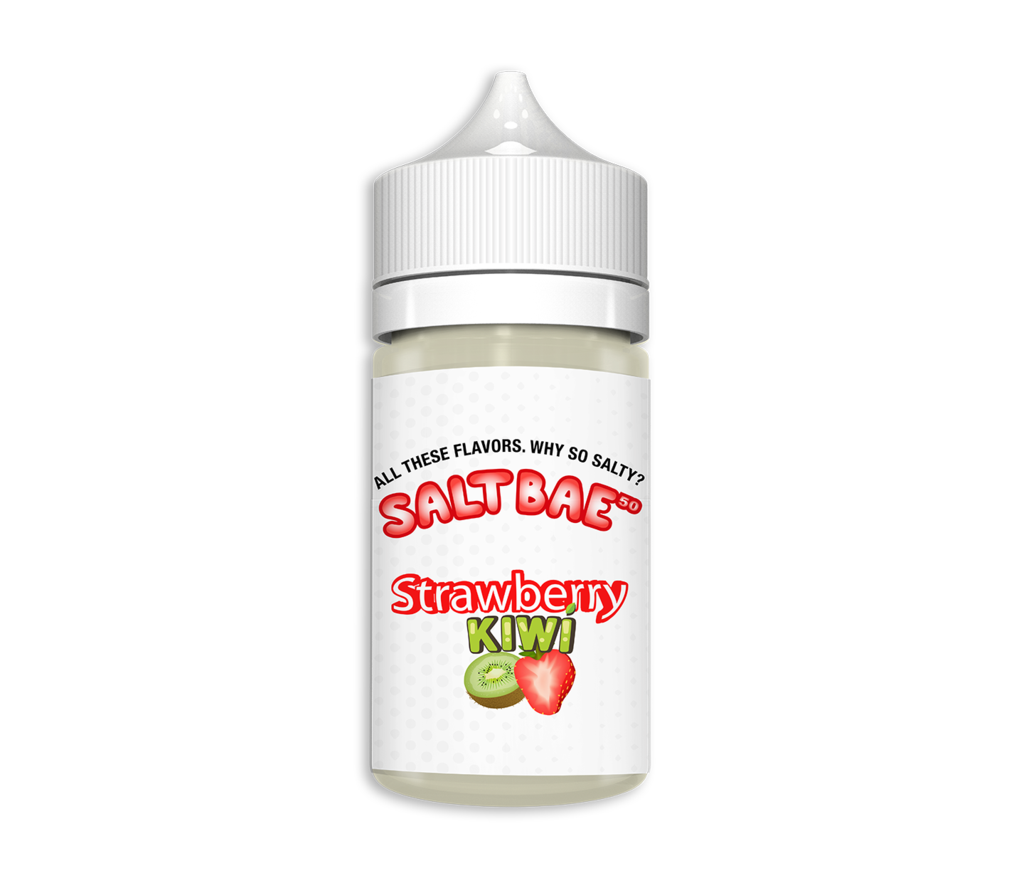 Saltbae50 Nicotine Salt E-Juice - 30ml - Strawberry Kiwi