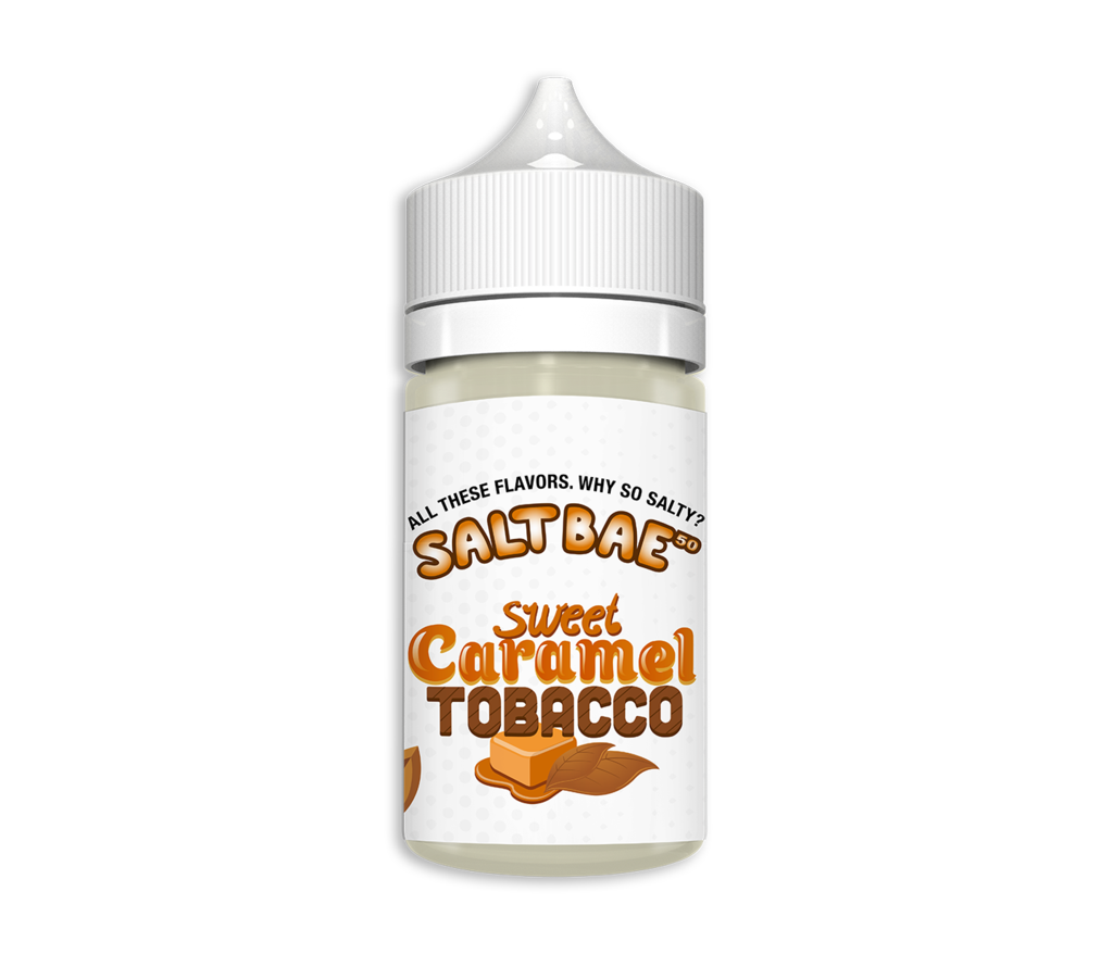 Saltbae50 Nicotine Salt E-Juice - 30ml - Sweet Caramel Tobacco