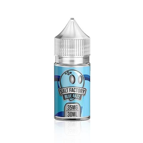 Salt Factory Nicotine Salt E-Juice - 30ml - Blue Razz