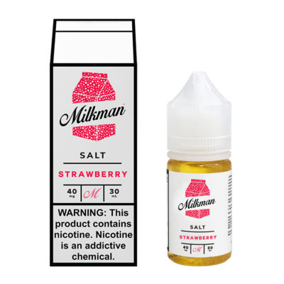 Milkman Nicotine Salt E-Juice - 30ml - Strawberry
