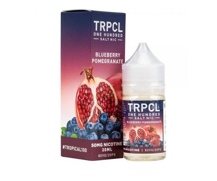 TRPCL 100 Nicotine Salt - 30ml - Blueberry Pomegranate