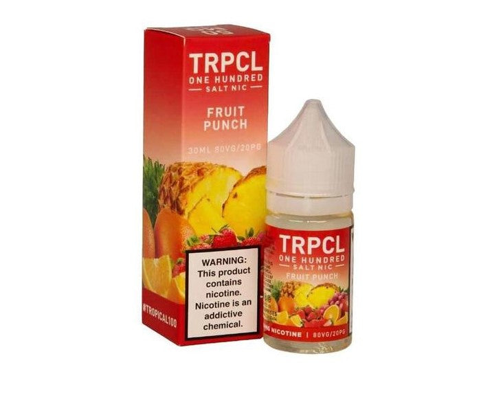 TRPCL 100 Nicotine Salt - 30ml - Fruit Punch