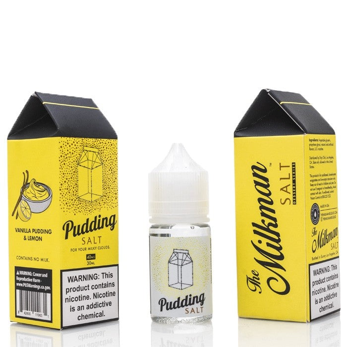 Milkman Nicotine Salt E-Juice - 30ml - Pudding