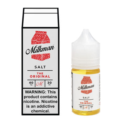 Milkman Nicotine Salt E-Juice - 30ml - The Original