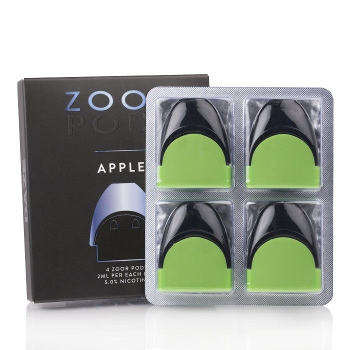 Zoor Nicotine Salt Replacement Pod - Apple