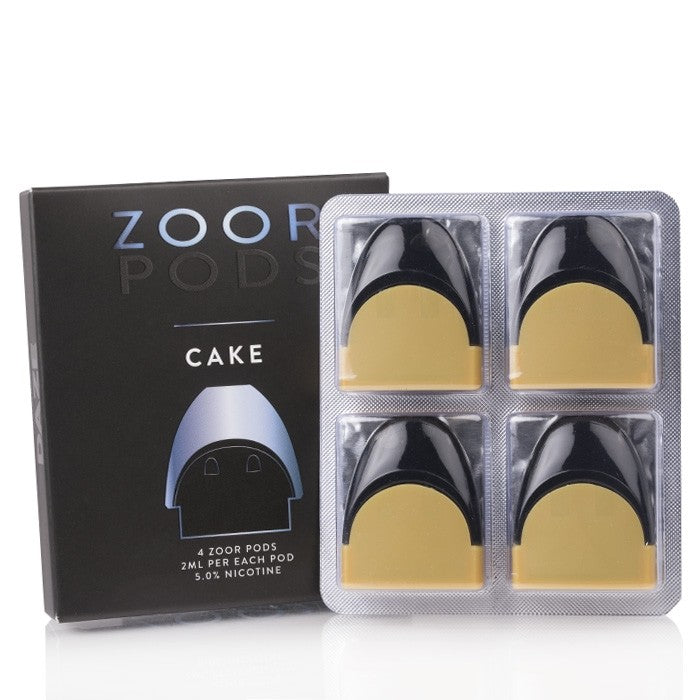 Zoor Nicotine Salt Replacement Pod - Cake
