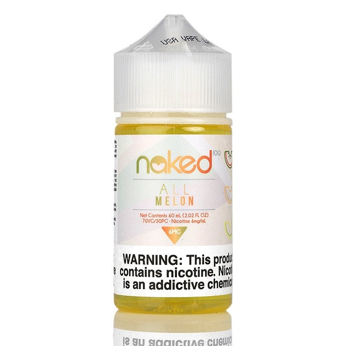 Naked 100 Nicotine E-Liquids - 60ml - All Melon
