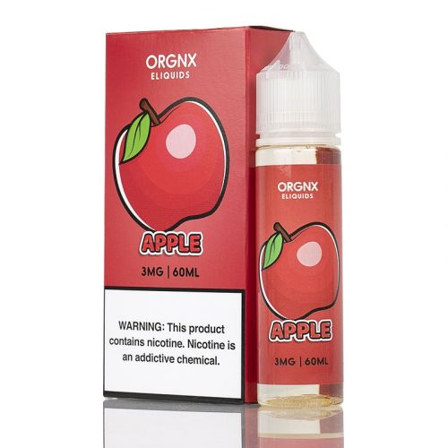 Orgnx E-Liquid Nicotine - 60ml - Apple