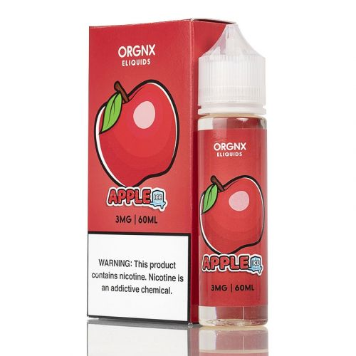 Orgnx E-Liquid Nicotine - 60ml - Apple Ice