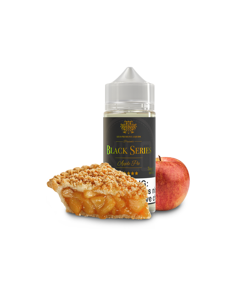 Kilo Black Series Nicotine - 100ml - Apple Pie