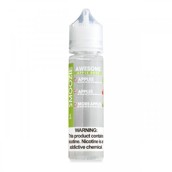 Smoozie Nicotine E-Juice - 60ml - Awesome Apple Sour