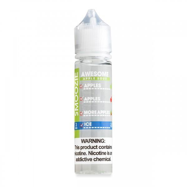 Smoozie Nicotine E-Juice - 60ml - Awesome Apple Sour ICE