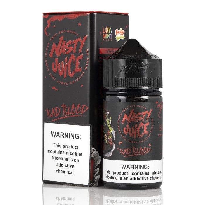 Nasty Juice Nicotine E-Juice - 60ml - Bad Blood