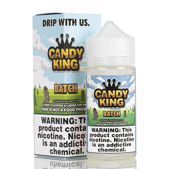 Candy King Nicotine E-Liquid - 100ml - Batch