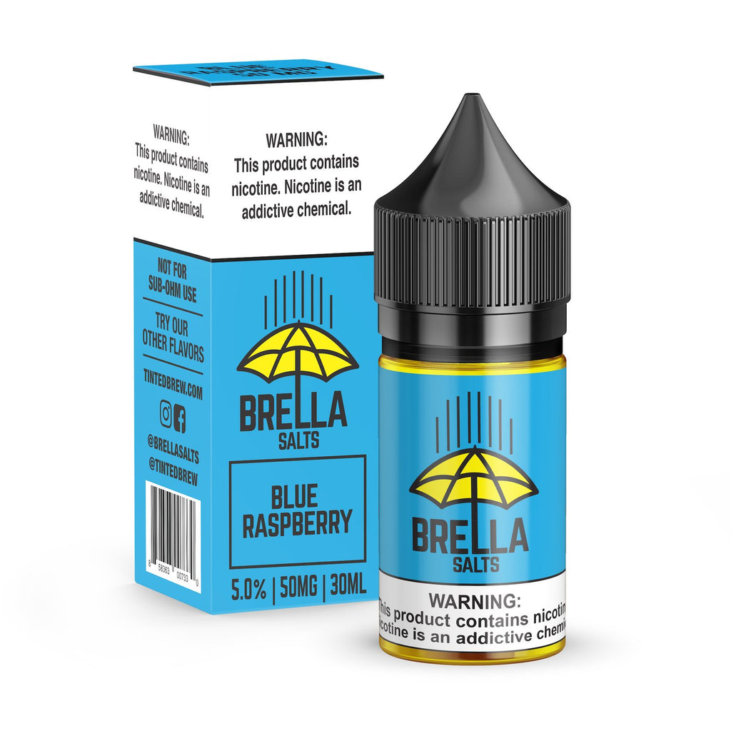 Blue Raspberry by Brella Salts Nicotine Salt
