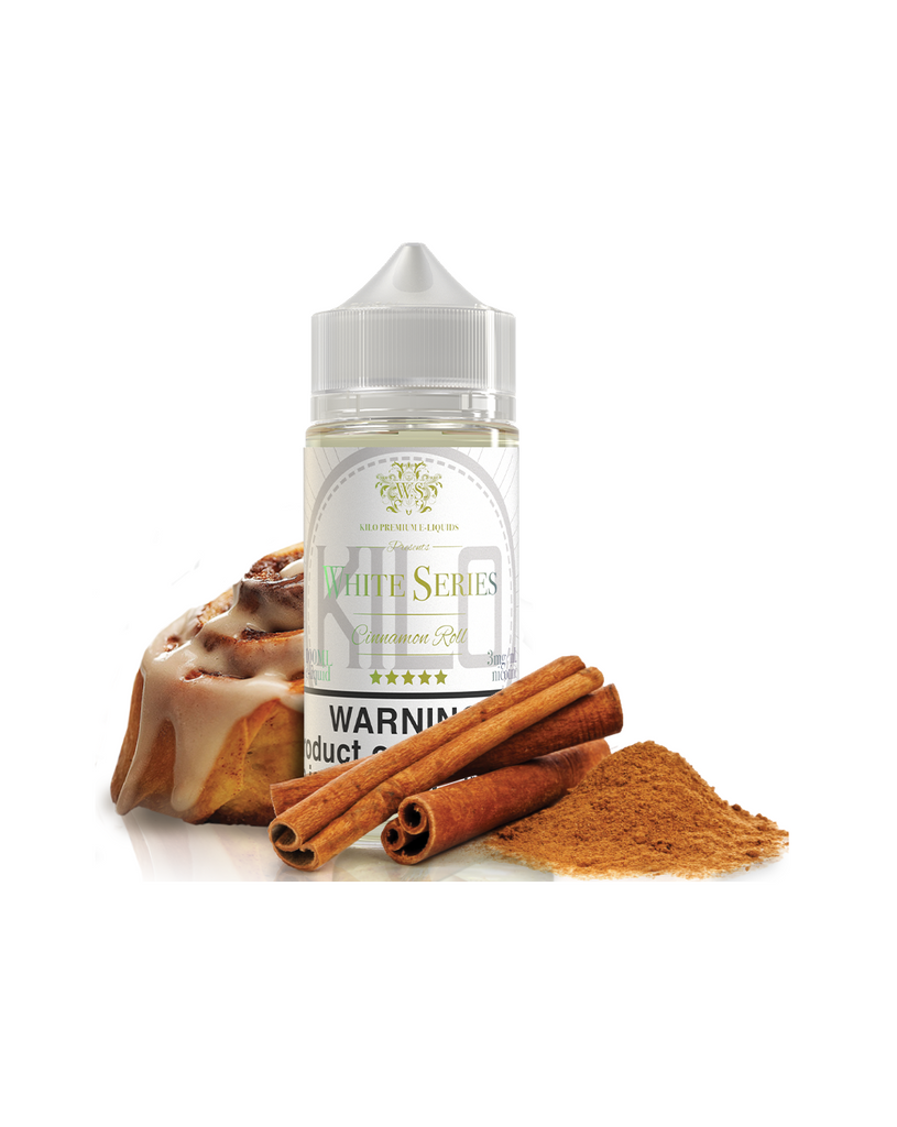 Kilo White Series Nicotine - 100ml - Cinnamon Roll