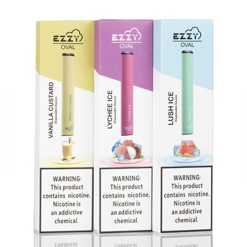 EZZY OVAL Nicotine Salt Disposable Vape Pen